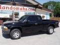 2004 Black Dodge Dakota SXT Club Cab 4x4  photo #2