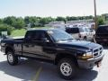 2004 Black Dodge Dakota SXT Club Cab 4x4  photo #3