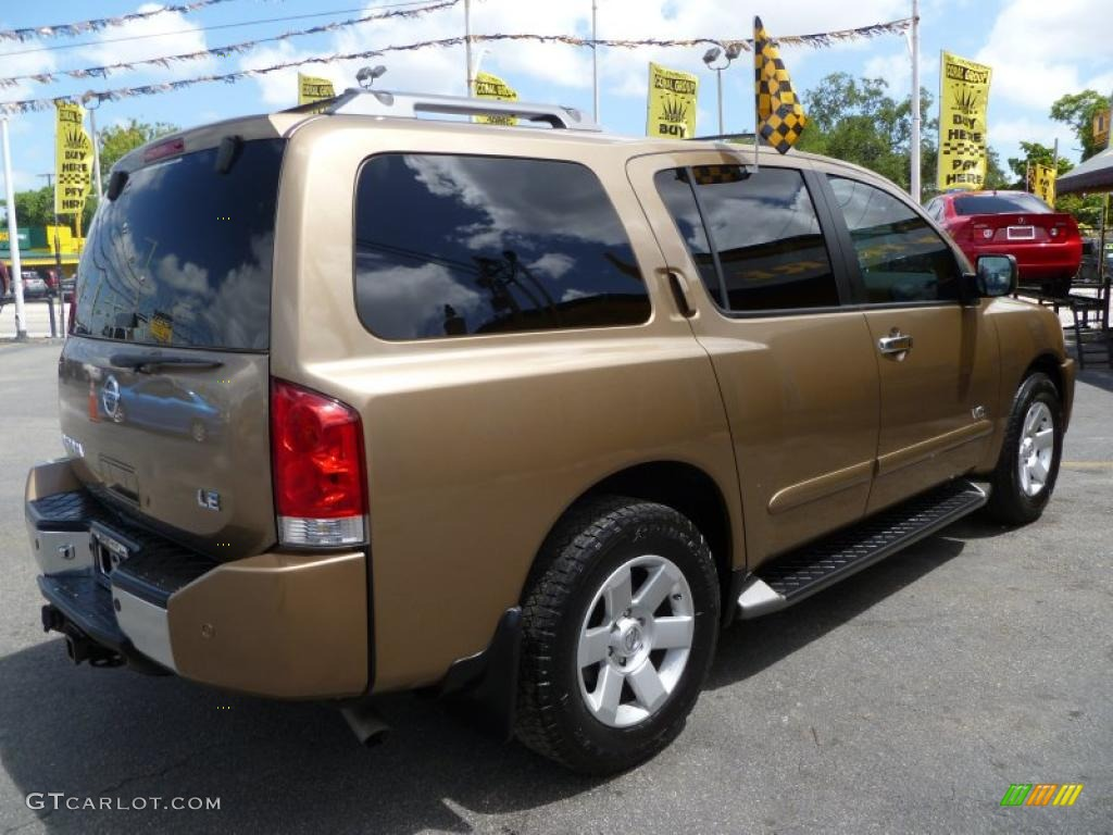 2005 sahara gold nissan armada le #32054650 photo #6 | gtcarlot