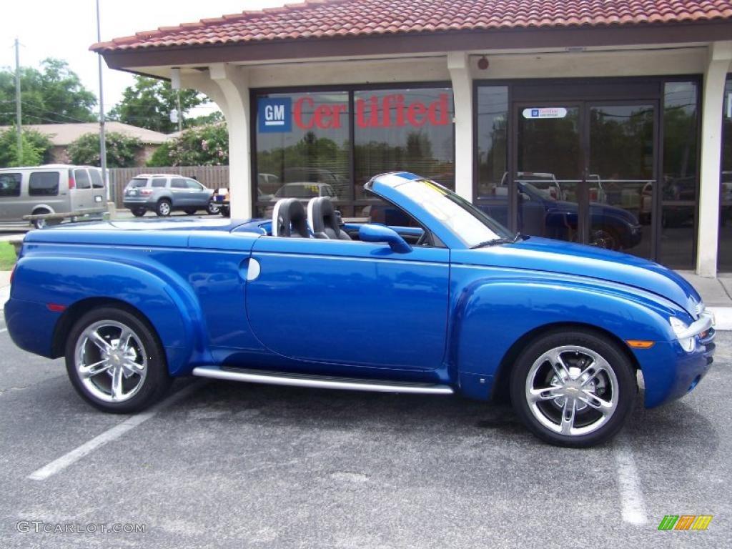 2006 Pacific Blue Metallic Chevrolet SSR #32054452 ...