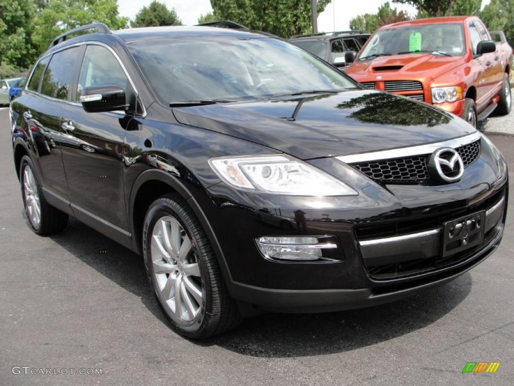 Brilliant Black Mazda CX 9