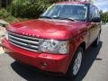 2008 Rimini Red Metallic Land Rover Range Rover V8 HSE #32098827
