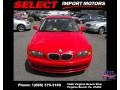 Bright Red - 3 Series 323i Coupe Photo No. 2