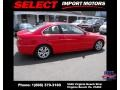 Bright Red - 3 Series 323i Coupe Photo No. 5