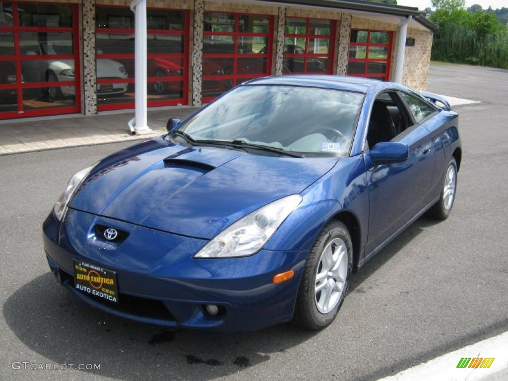 2000 spectra blue mica toyota celica gt 32098965. Black Bedroom Furniture Sets. Home Design Ideas