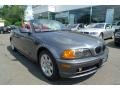 Steel Grey Metallic 2001 BMW 3 Series 325i Convertible