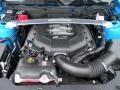 2011 Grabber Blue Ford Mustang GT Premium Coupe  photo #13