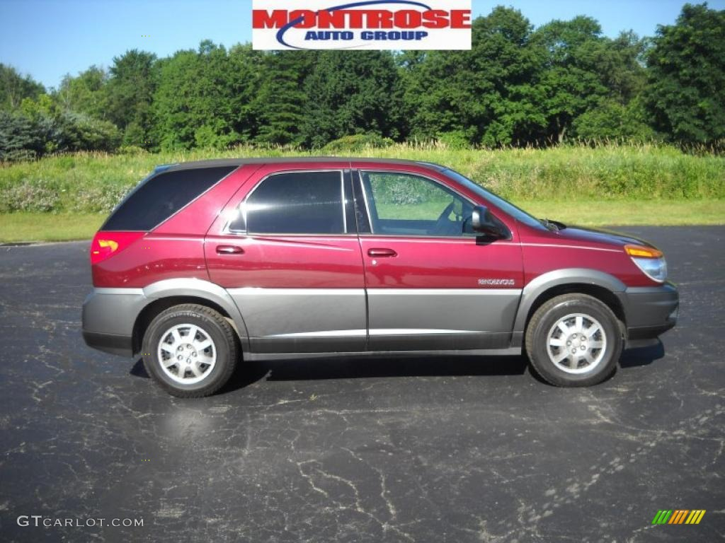 on 2004 Buick Rendezvous White