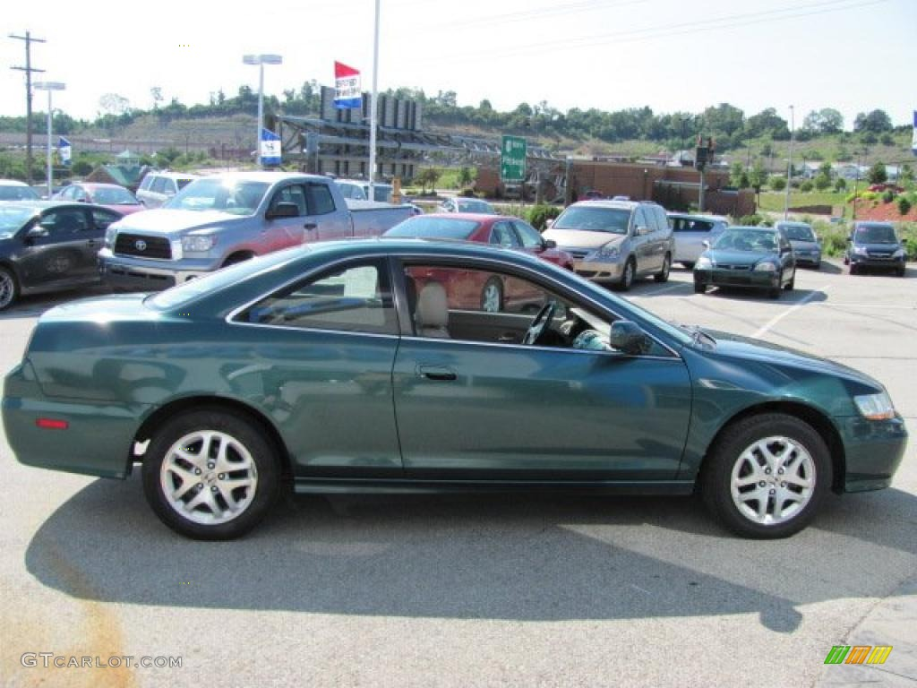 2002 noble green pearl honda accord ex v6 coupe 32177824 photo 8 car color. Black Bedroom Furniture Sets. Home Design Ideas
