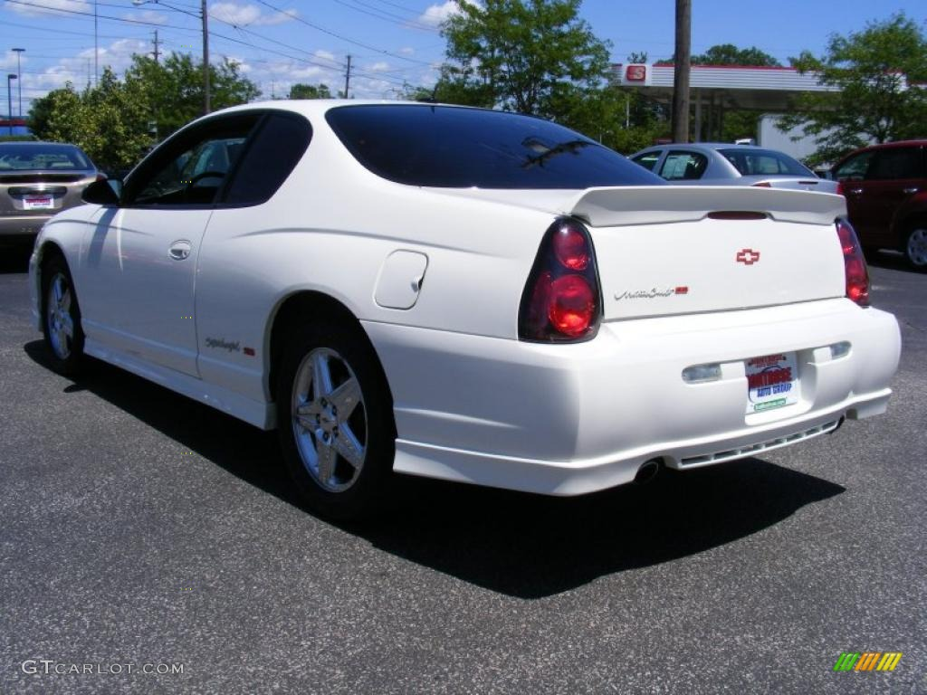 2005 white chevrolet monte carlo supercharged ss 32177574 photo 3 car color. Black Bedroom Furniture Sets. Home Design Ideas