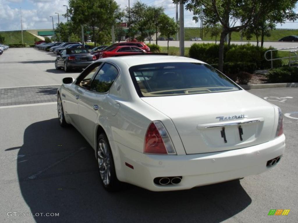 2007 bianco white maserati quattroporte executive gt 32177586 photo 31 car. Black Bedroom Furniture Sets. Home Design Ideas