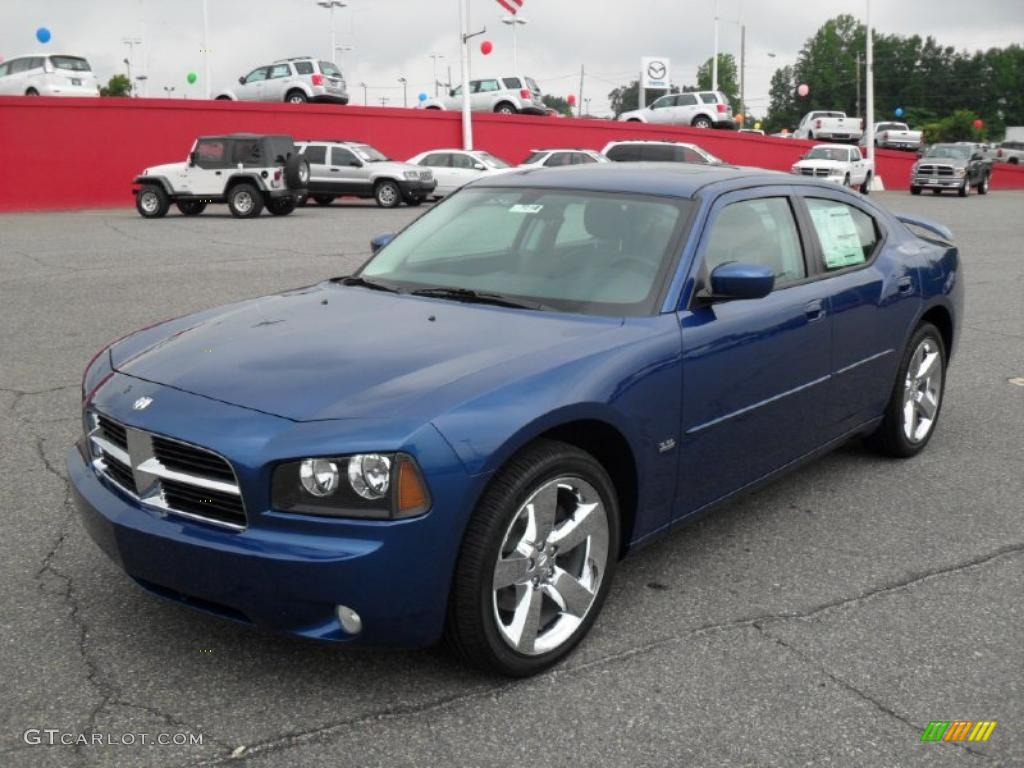 2010 deep water blue pearl dodge charger rallye 32178509. Black Bedroom Furniture Sets. Home Design Ideas