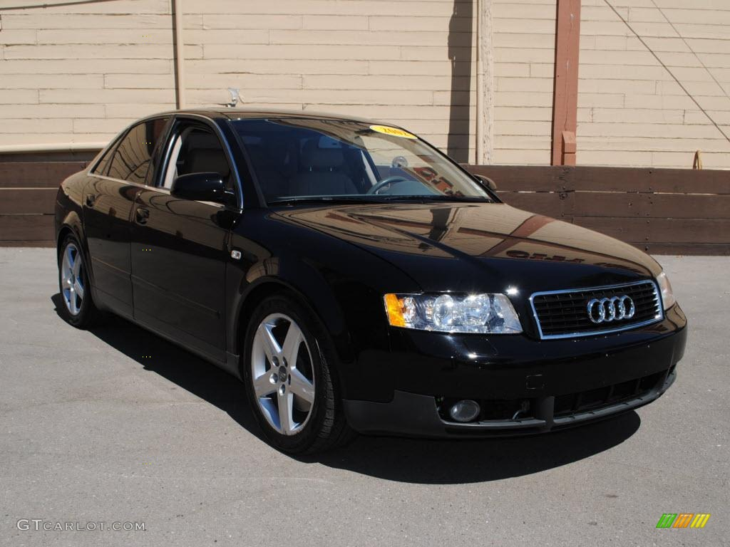 2002 brilliant black audi a4 3 0 quattro sedan 32178587 photo 8 car color. Black Bedroom Furniture Sets. Home Design Ideas