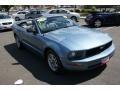 2006 Windveil Blue Metallic Ford Mustang V6 Premium Convertible  photo #3