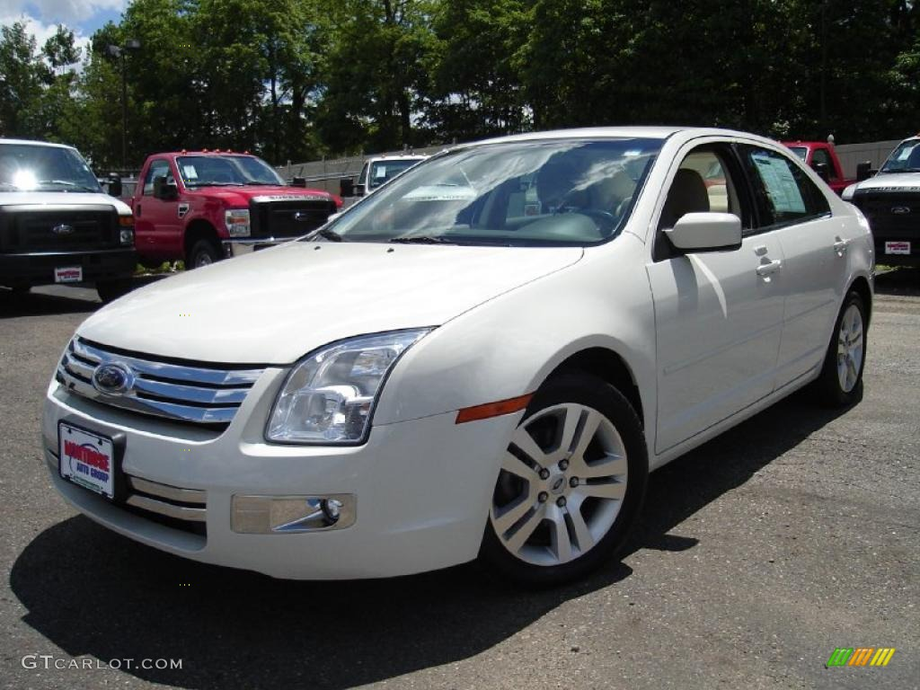 2009 white suede ford fusion sel v6 32177784 gtcarlot. Black Bedroom Furniture Sets. Home Design Ideas