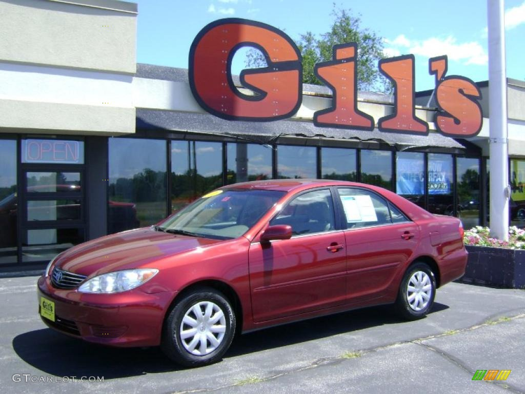 2006 salsa red pearl toyota camry le 32268634 car color galleries. Black Bedroom Furniture Sets. Home Design Ideas