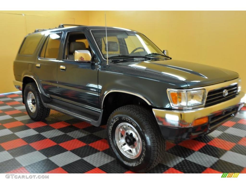 1995 evergreen pearl toyota 4runner sr5 v6 4x4 32269020 car color galleries. Black Bedroom Furniture Sets. Home Design Ideas