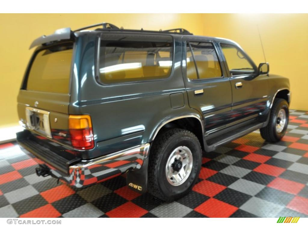 1995 evergreen pearl toyota 4runner sr5 v6 4x4 32269020. Black Bedroom Furniture Sets. Home Design Ideas