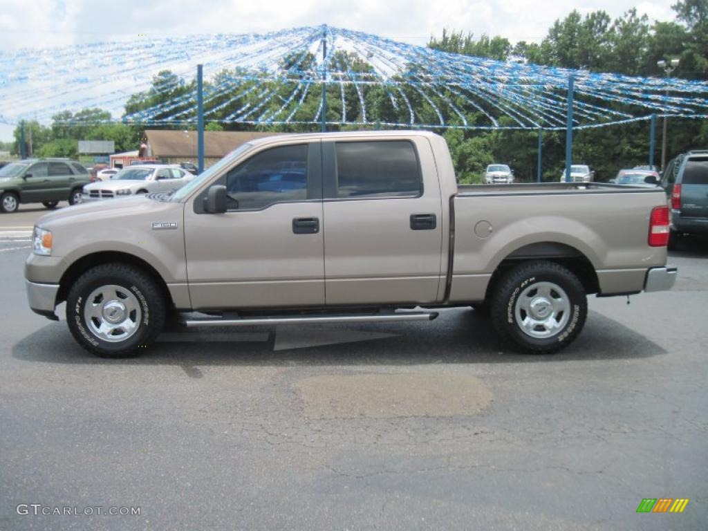 2006 arizona beige metallic ford f150 xlt supercrew. Black Bedroom Furniture Sets. Home Design Ideas