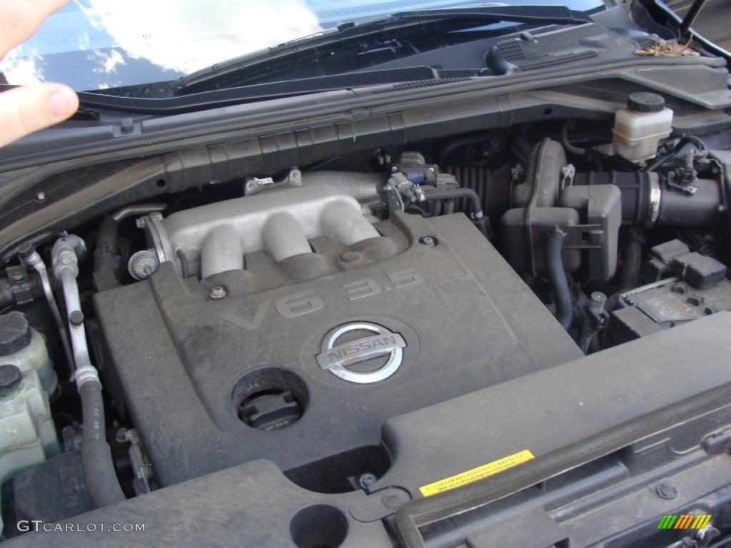 2007 Murano S AWD - Super Black / Charcoal photo #26