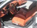 Terracotta 2007 Porsche Cayman Interiors