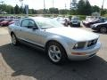 2007 Satin Silver Metallic Ford Mustang V6 Deluxe Coupe  photo #6