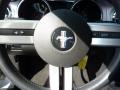 2007 Satin Silver Metallic Ford Mustang V6 Deluxe Coupe  photo #19