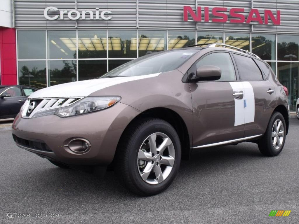 2010 Murano SL - Tinted Bronze Metallic / Beige photo #1