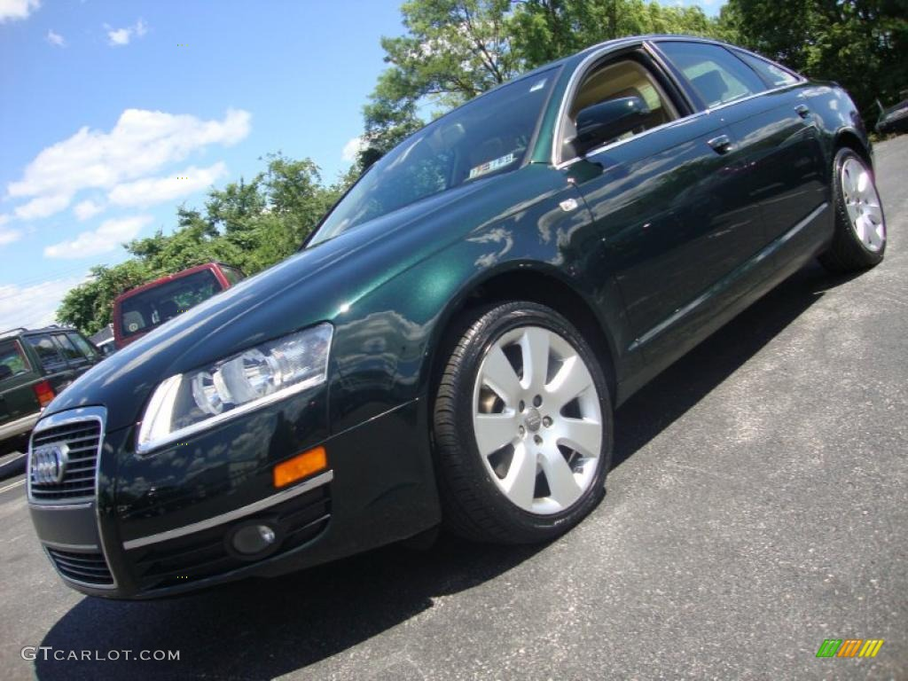2006 Cambridge Green Pearl Audi A6 3 2 Sedan 32340652