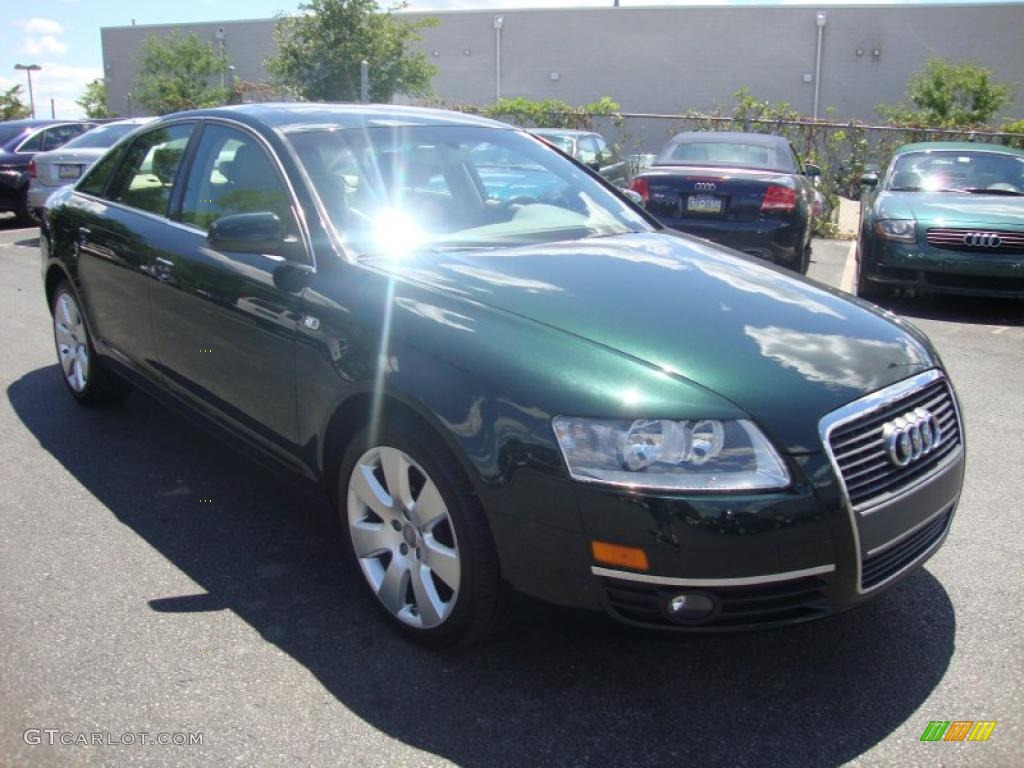 2006 cambridge green pearl audi a6 3 2 sedan 32340652 photo 4 car color galleries. Black Bedroom Furniture Sets. Home Design Ideas