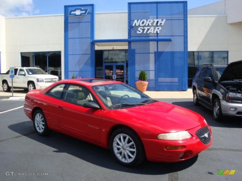 1998 Indy Red Chrysler Sebring Lxi Coupe 32340843 Gtcarlot Com