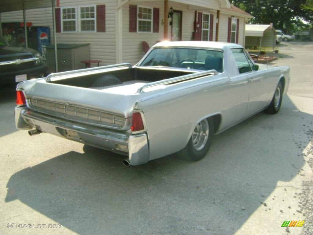 1963 Silver Lincoln Continental Custom Funeral Flower Car 32340872