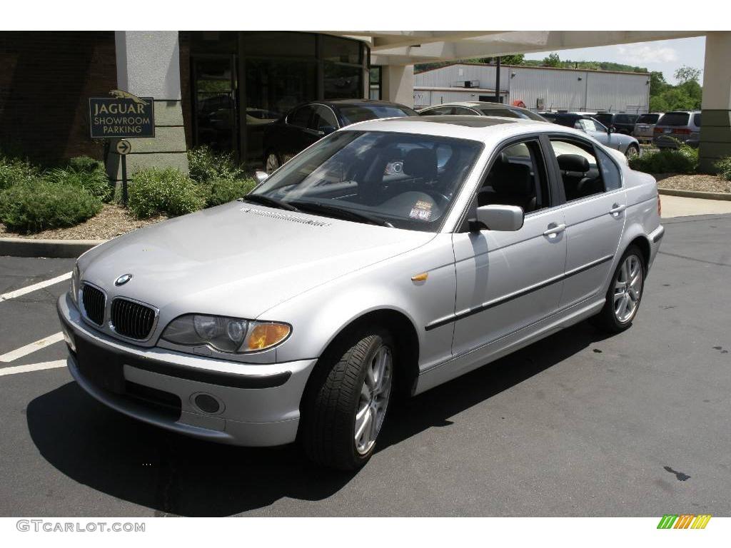 2002 Titanium Silver Metallic BMW 3 Series 330xi Sedan ...