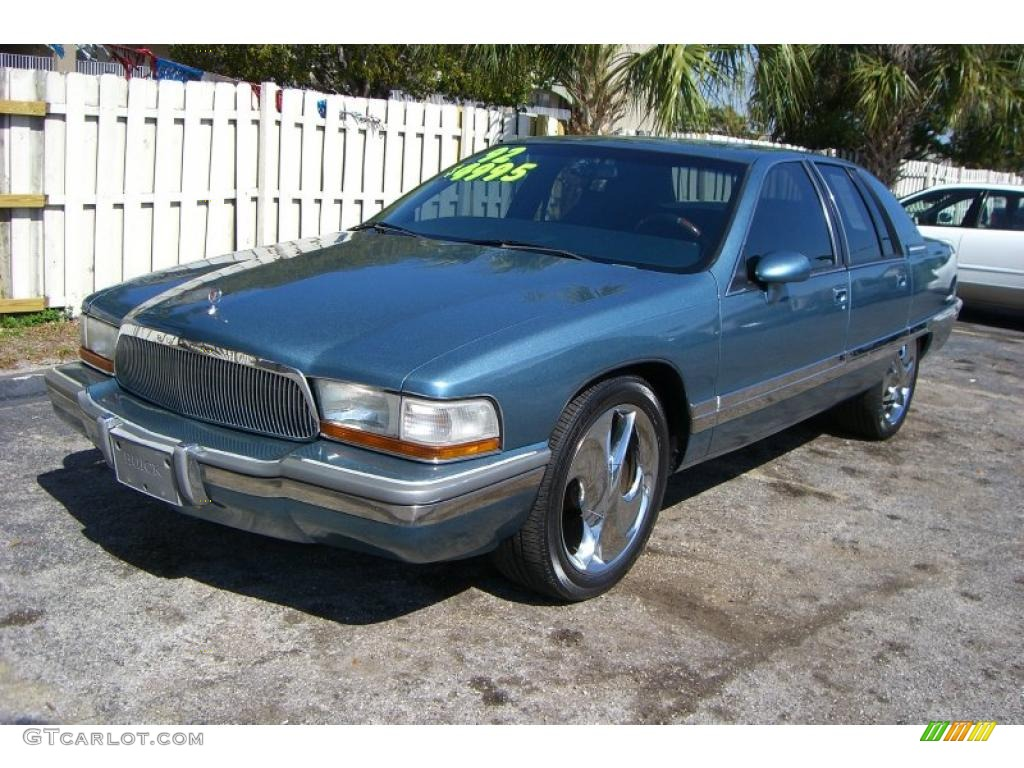 1992 medium sapphire blue metallic buick roadmaster limited 32391936 gtcarlot com car color galleries gtcarlot com