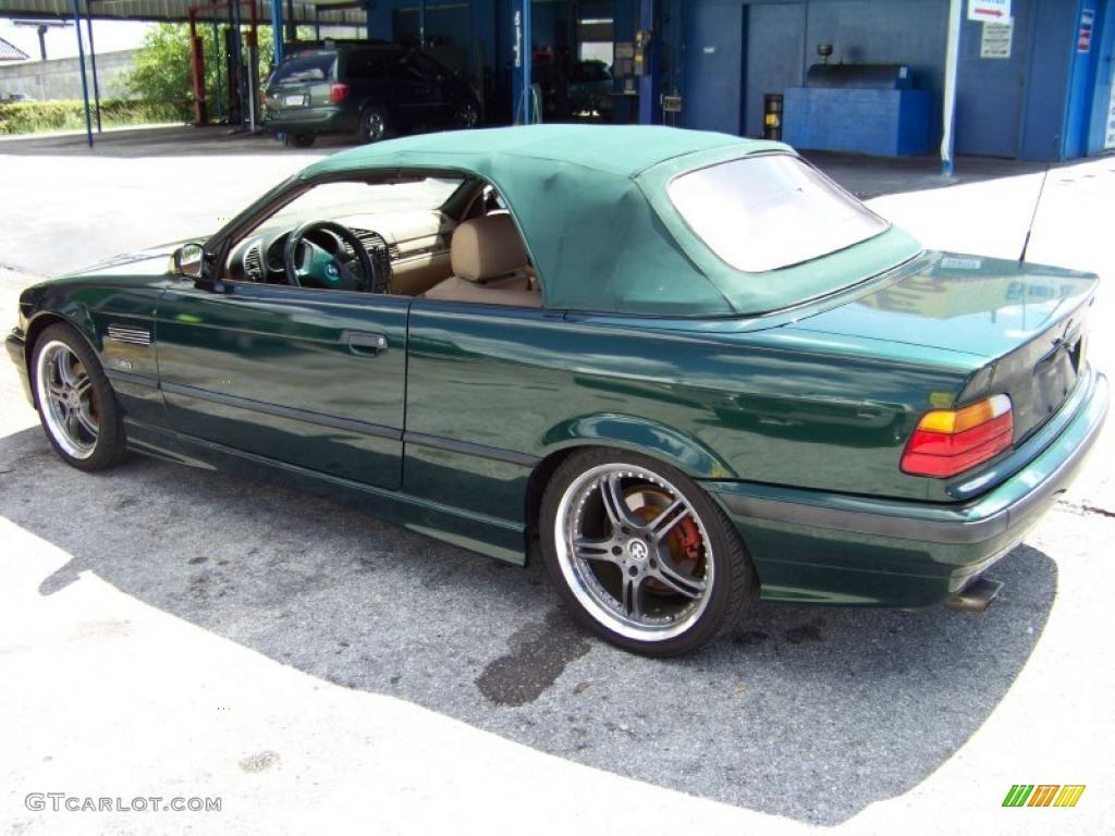 1998 Boston Green Metallic Bmw 3 Series 323i Convertible