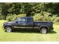 2002 Onyx Black Chevrolet Silverado 1500 LS Extended Cab  photo #2