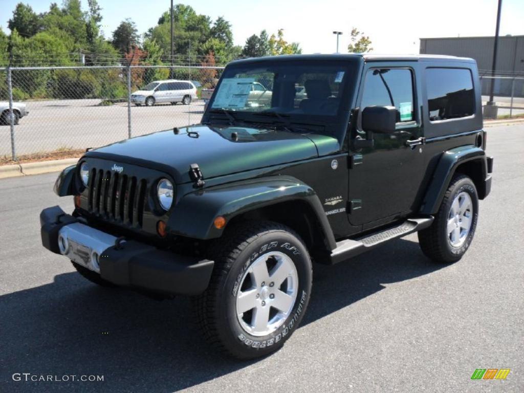 2010 natural green pearl jeep wrangler sahara 4x4 #32392041