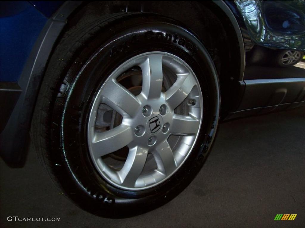 2008 CR-V EX-L 4WD - Royal Blue Pearl / Gray photo #10