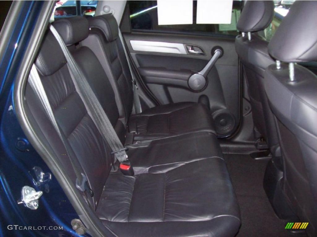2008 CR-V EX-L 4WD - Royal Blue Pearl / Gray photo #14