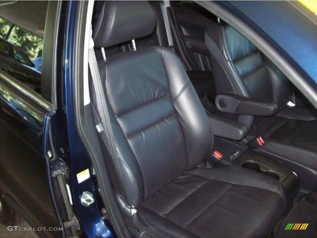 2008 CR-V EX-L 4WD - Royal Blue Pearl / Gray photo #15