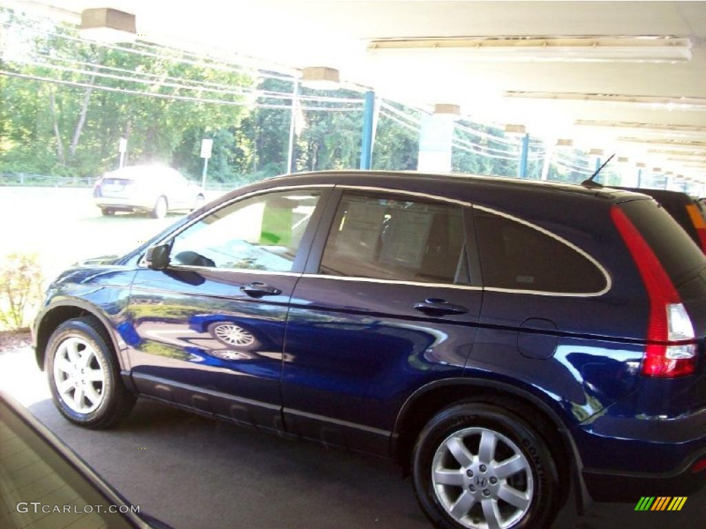 2008 CR-V EX-L 4WD - Royal Blue Pearl / Gray photo #24