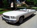 1975 White Chevrolet Caprice Classic Convertible #32391793