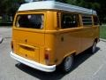 Chrome Yellow 1977 Volkswagen Bus T2 Camper Van