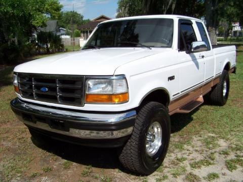 1995 Ford F150 Eddie Bauer Extended Cab Data, Info and Specs