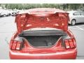 2001 Laser Red Metallic Ford Mustang V6 Convertible  photo #7