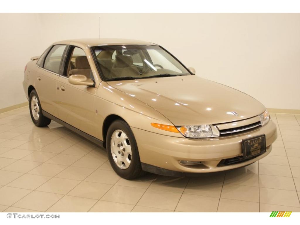 2001 l series l300 sedan medium gold tan photo 1