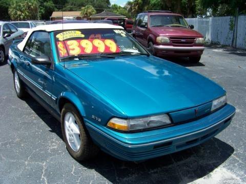 1994 Pontiac Sunbird LE Convertible Data, Info and Specs