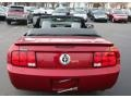 2007 Redfire Metallic Ford Mustang V6 Premium Convertible  photo #7