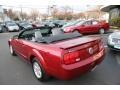 2007 Redfire Metallic Ford Mustang V6 Premium Convertible  photo #8