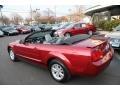 2007 Redfire Metallic Ford Mustang V6 Premium Convertible  photo #9